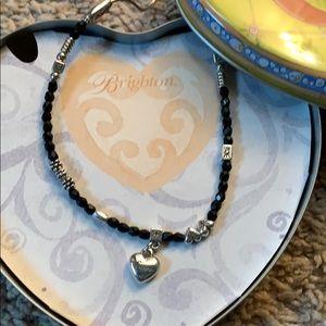 Brighton Silver Heart Love Necklace